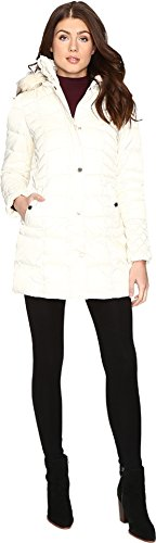 Betsey-Johnson-Womens-Quilted-Puffer-w-Fur-Hood