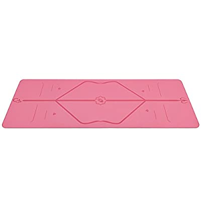Liforme Yoga Mat - The World's Best Eco-Friendly, Non Slip Yoga Mat with The Original Unique Alignment Marker System. Biodegradable Mat Made with Natural Rubber & A Warrior-Like Grip