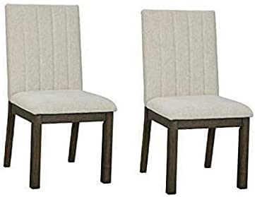 Upholstered Dining Room Chair - Set of 2 - Beige