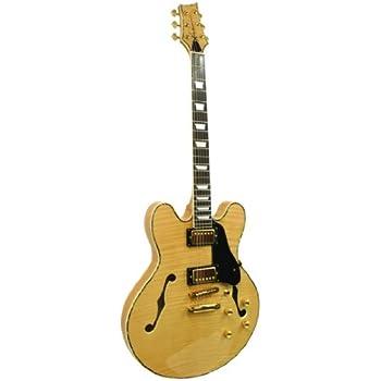 kona guitars ke35csb jazzed 335 flamed semi hollow body electric guitar with custom. Black Bedroom Furniture Sets. Home Design Ideas