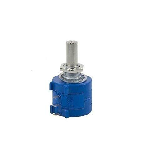 Henglifu 3590S-2-102L 1K Ohm Rotary Wirewound Precision Potentiometer Pot 10 Turn