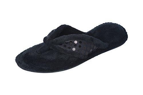 Vess flip Black flop terry Joan womens vUqtxYdd