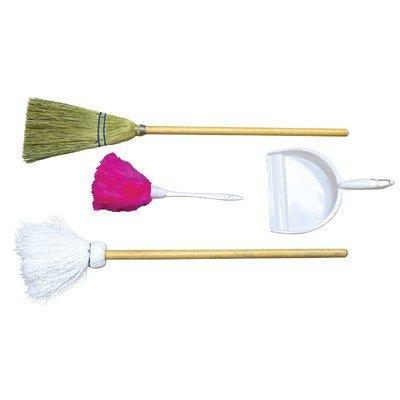 Wood Designs WD24400 Broom, Mop, Duster, Dust Pan