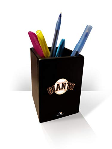 MLB San Francisco Giants Pen/Pencil Holder (Francisco Home San Giants Accessories)