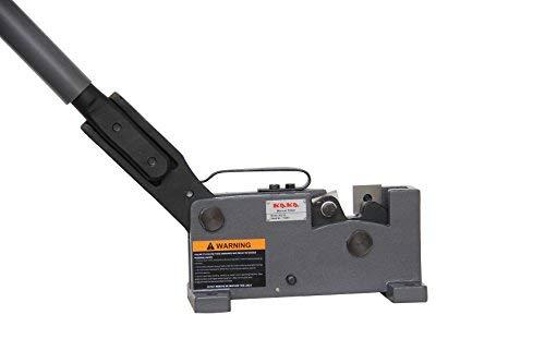 (KAKA Industrial MS-20 20mm Sheet Metal Shears, and Versatility, Rebar and Rod Cutter, Steel Cutter, Flat Bar Steel, Round Steel Metal Cutter)