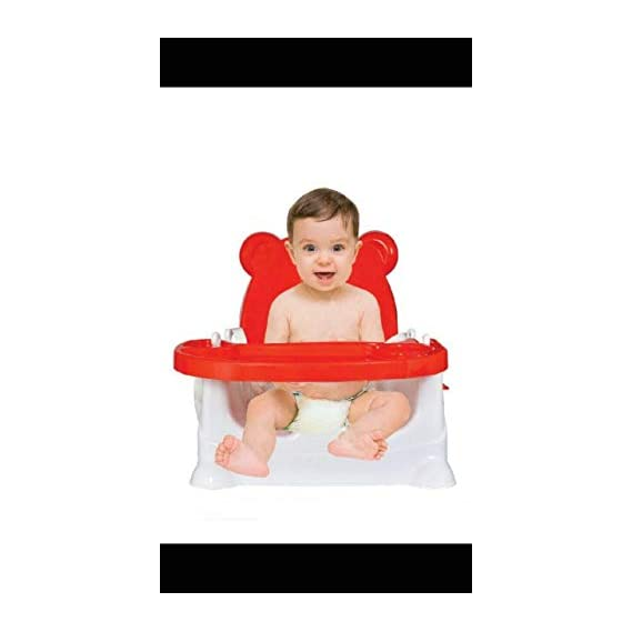 Generic SR Collection 5 in 1 Baby Booster Chair Cum Swing, (Colour May Vary)