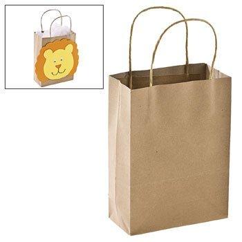 Fun Express Brown Gift Bags