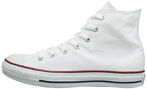 Chuck Taylor All Star Canvas High Top, Optical White, 4.5 M US by Converse (Image #5)