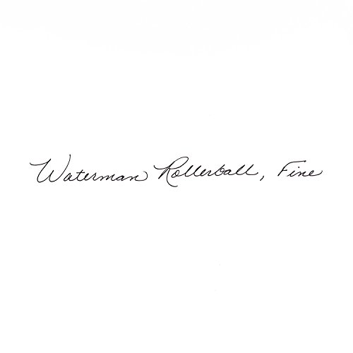 Waterman Perspective Black, Rollerball pen with Fine Black refill (S0830720) by Waterman (Image #5)