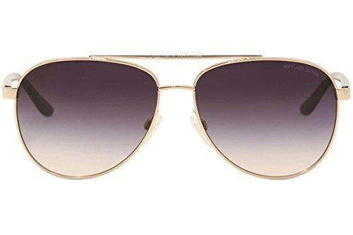1df510c39 Michael Kors MK5007 109936 Rose Gold Hvar Pilot Sunglasses Lens Category 3  Size