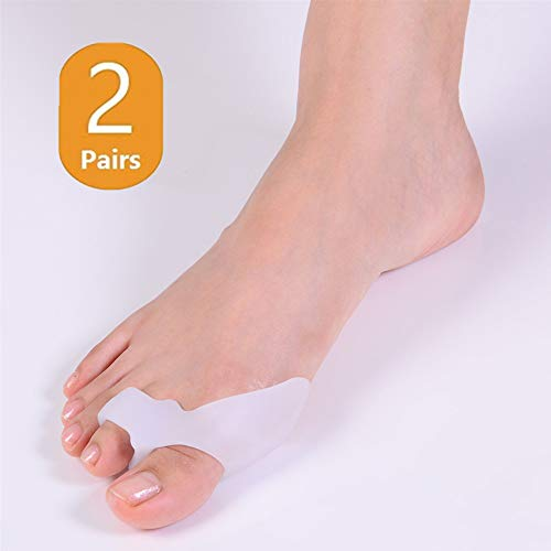 DUORUI 2 Pairs Hot Sale Beetle-Crusher Bone Ectropion Corrector Bunion Toes Outer Appliance Hallux Valgus Correction Adjuster Health Care