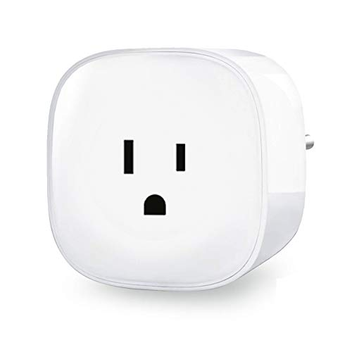 Meross Smart WIFI Mini Plug, with Energy Monitoring,Voice Control,  Compatible with Alexa/Google Assistant/IFTTT,No Hub Required,FCC and ETL  Complied