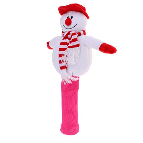 (DYNWAVE 1 Set Shockproof Golf Club Headcovers for 460cc Driver Wood Sock Cover Snowman Shaped Golfer)