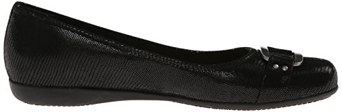 Trotters Women's Sizzle Flat Black reliable cheap online outlet shop very cheap online nYZjIHwR