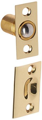Baldwin Estate 0426.030 Solid Brass Adjustable Ball Catch in Polished Brass, (Medium Baldwin Hardware)