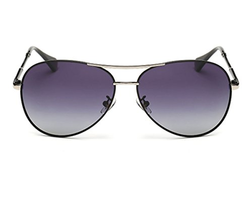 Heartisan Aviator Polarized Full Mirrored Metal Crossbar Sunglasses - Square Stores Melbourne Mall
