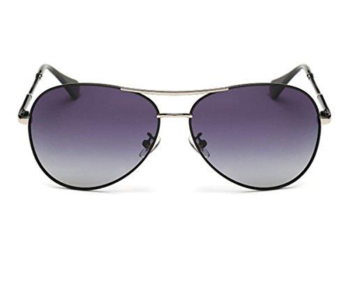 Heartisan Aviator Polarized Full Mirrored Metal Crossbar Sunglasses - Eyeglasses Round Online India Buy