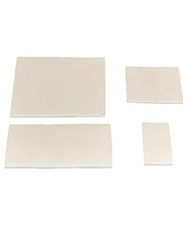Teller, 99,3% hochreines Aluminium, rechteckig, Aluminium-Keramik, 100X100X4mm, 1
