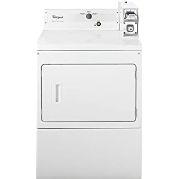 Amazon com: Whirlpool Coin Operated White Front Load Dryer