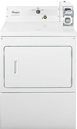 Whirlpool Coin Operated White Front Load Dryer CGM2743BQ