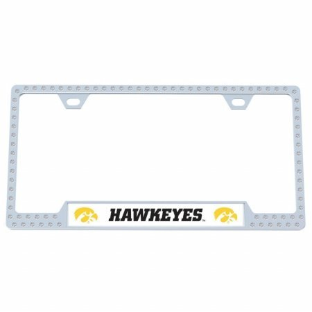 (Iowa Hawkeyes Bling License Plate Frame )