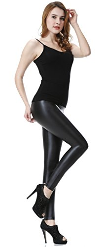 Sexy Womens Faux leather legging