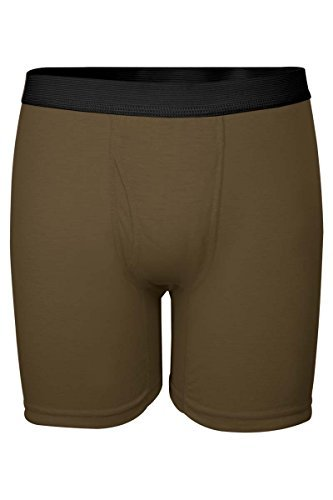 bc7b29d3d698 DRIFIRE Men s Flame Resistant Ultra-Lightweight Boxer Brief Coyote Brown