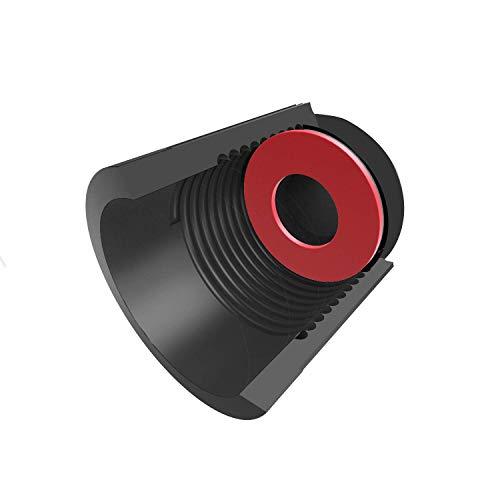 PPpanda Valve Dust Caps,Tire Caps Valve Stem Caps Tyre Valve Dust Caps Dustproof Tire Cap for Car, Motorbike, Trucks, Bike and Bicycle(ONLY Schrader Valve) 36pcs,Black by PPpanda (Image #1)