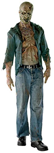 The Walking Dead TV Show Teen Deluxe Decomposed Zombie Costume, Multicolored, Teen Standard ()