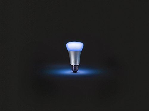 046677456214 - Philips Hue White and Color Ambiance Starter Kit, 3 A19 bulbs and a Bridge (Old Model, 2nd Generation), Works with Amazon Alexa carousel main 5