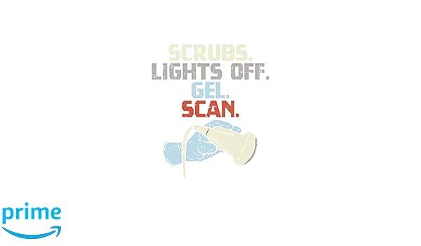 Scrubs. Lights Off. Gel. Scan.: 120 Pages I 6x9 I Graph ...