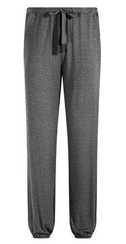Trousers Pajama (ZSHOW Men's Yoga Pants Lightweight Latin Lounge Trousers Pajama Dancing Pants with Pockets(Grey,M))