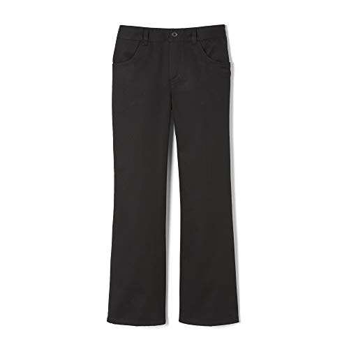 French Toast Little Girls' Toddler Pull-On Pant, Black, ()