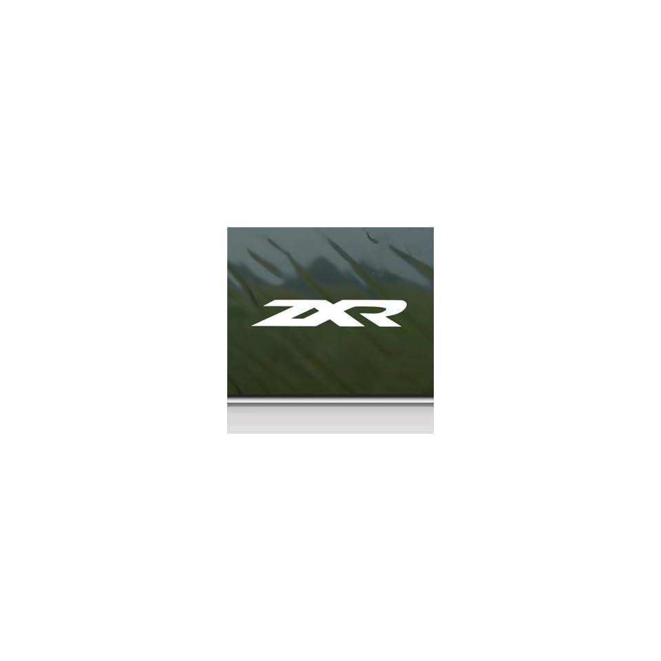 Honda White Sticker Zxr 250 750 Car Vinyl Window Laptop White Decal