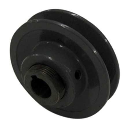 V-Belt Pulley, 5/8''VrPitch, 3.5''OD, Iron