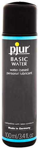 (Pjur BASIC Water Lubricant 3.4 - Water-Based Personal Lubricant, Made With Quality Ingredients That Optimize The Body's Natural Moisture (3.4 Fluid Ounce / 100 Milliliter))