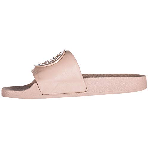En Sandales Rose Tory Chaussons Mules Burch Lina Cuir Femme CUCXw4q