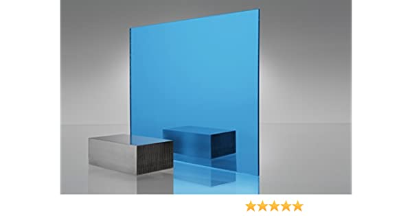 "1 Sheets 1//8/"" BLUE  Mirror Acrylic Plexiglass 12/"" x  24/"""
