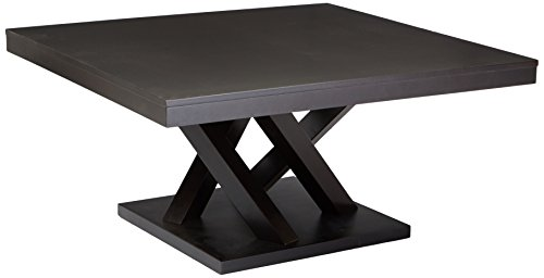Baxton Studio Everdon Modern Coffee Table, Dark Brown ()