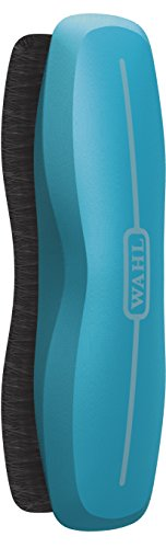 Wahl Professional Animal Equine Grooming Stiff Body Horse Brush, Turquoise (#858705-100)