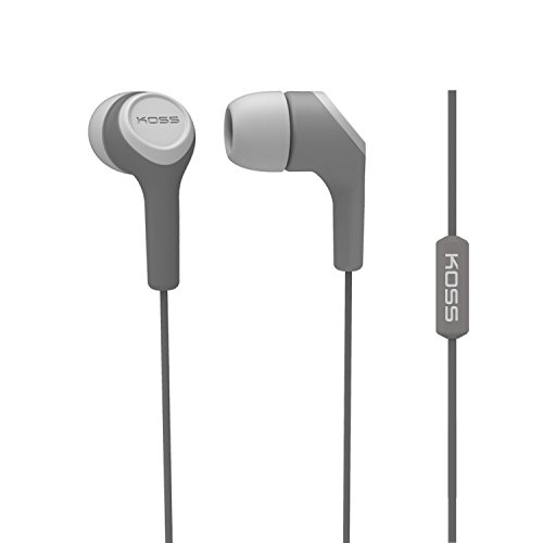Koss KEB15i In-Ear Headphone, Grey