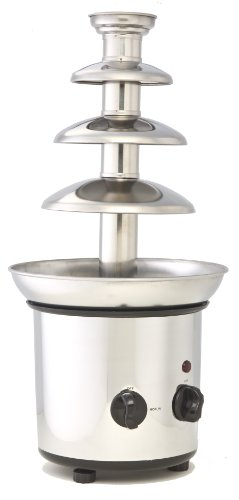 "ClearMax CF-892 Chocolate Fountain, 5"", Silver"