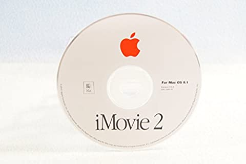 iMovie 2 Two Genuine Macintosh Mac: For Mac OS 9.1 Version 2.0.3 Apple Operating System Computer Software Program Replacement Disc (Apple Imovie Software)