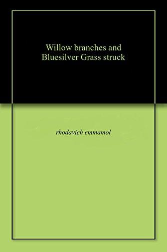 (Willow branchеs and Bluеsilvеr Grass struck)