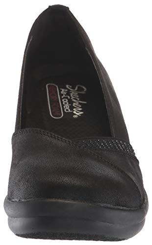 as Gore Chaussure Strass Femme compensée Rumblers Skechers44795 Noir Semelle If SvOtq5xw