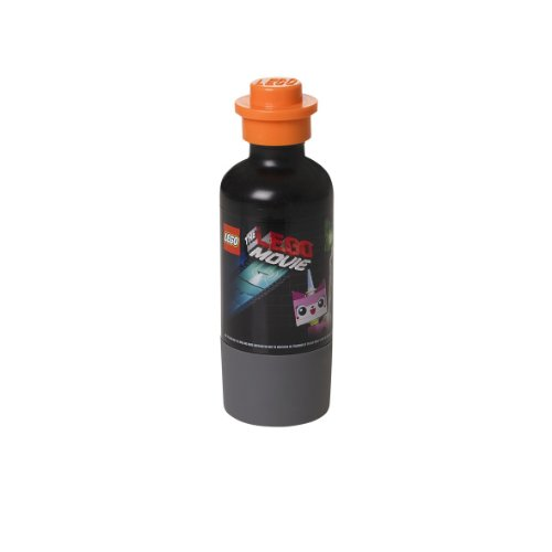 LEGO Movie Drinking Bottle, Black