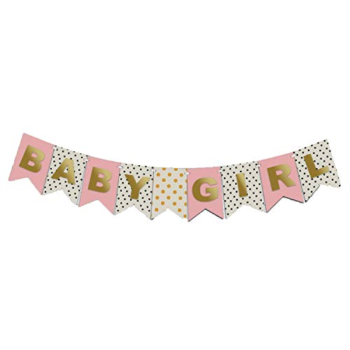 SALE! Idiogram BABY SHOWER GIRL Bunting Banner Birthday Party Christening Garland Decorations
