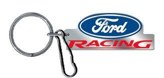 UPC 081134142286, Ford Racing Enamel Key Chain
