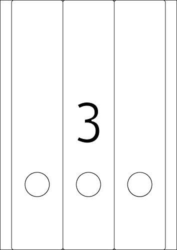 breit//kurz HERMA 5099 Ordnerr/ücken Etiketten gr/ün 20 Blatt Papier matt selbstklebend 80 Ordneretiketten bedruckbar DIN A4, 61 x 192 mm