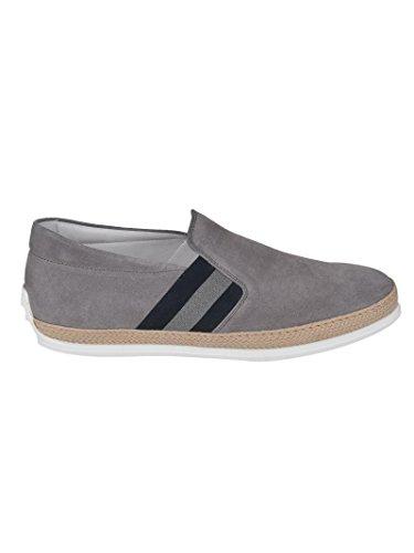Grigio Slip On Xxm0tv0v530re0b414 Camoscio Tod's Uomo Sneakers FS1YwY